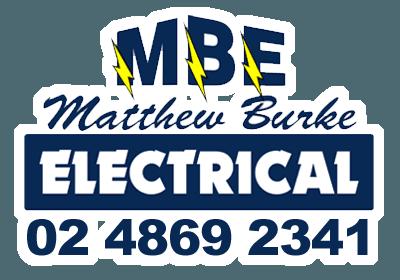 matthew burke electrical pty ltd business logo
