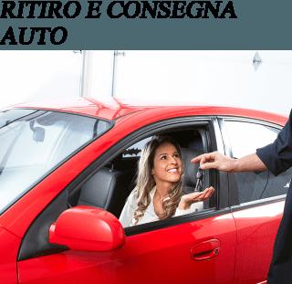 ritiro e consegna auto