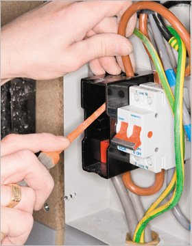Electrical services - Kent, South East  - Higher Elevation Ltd  - Electrical Box wires