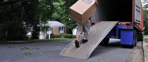 Moving specialist loading for long distance moving in Rochester, NY