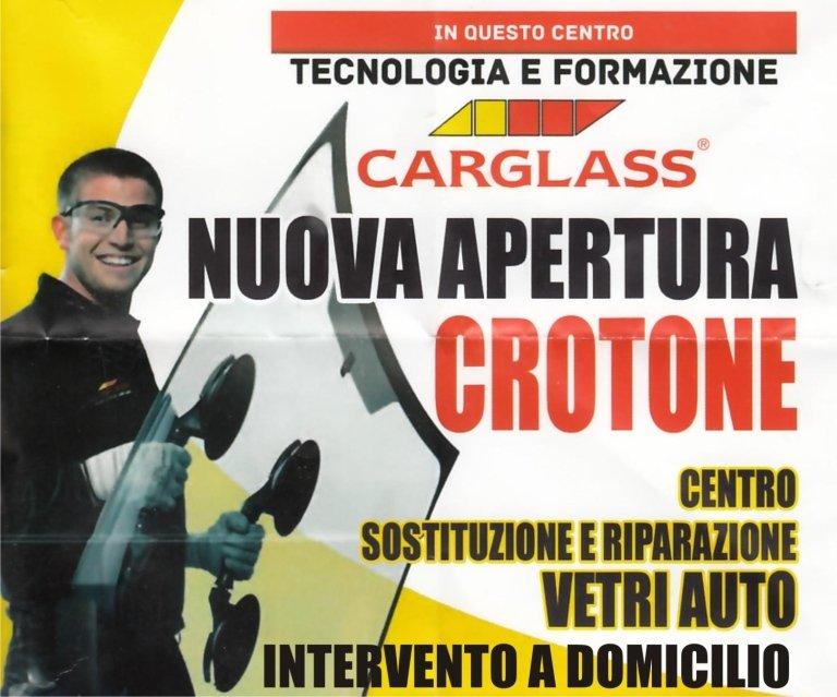 riparazione cristalli crotone