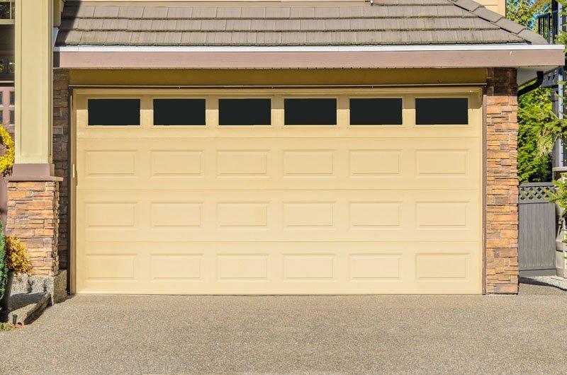 Porta automatica di un garage