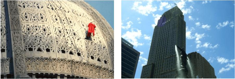 Building restoration in Cincinnati, OH