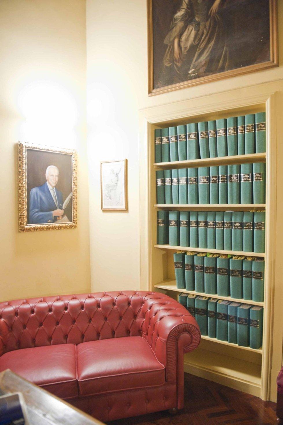 Sala attesa studio notarile