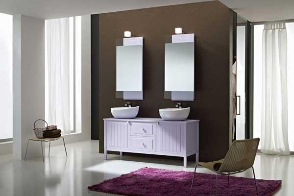 Mobile lavabo lilla