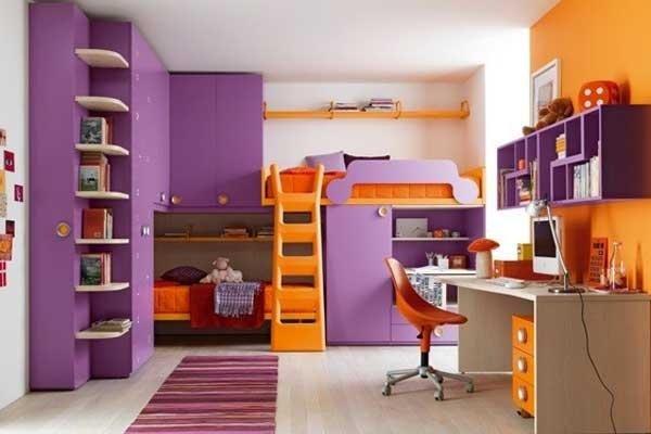 Camere colorate bambini