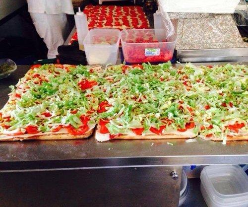 teglie di pizza al taglio