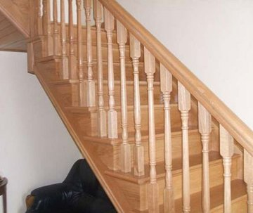 Staircase - Newport - O N Davis Joinery Manufacturers  - Staircase