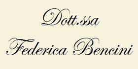 Dott.ssa Federica Bencini