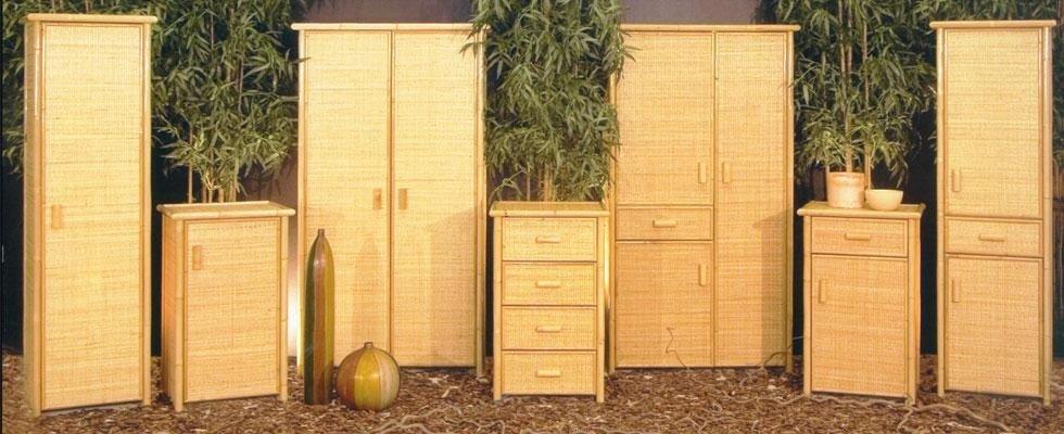 Arredamenti bambù e rattan - Vercelli - MONTI MASSIMO