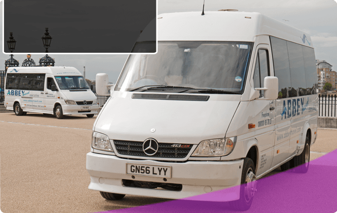 coach and minibus hire - london, watford - abbey travel - home