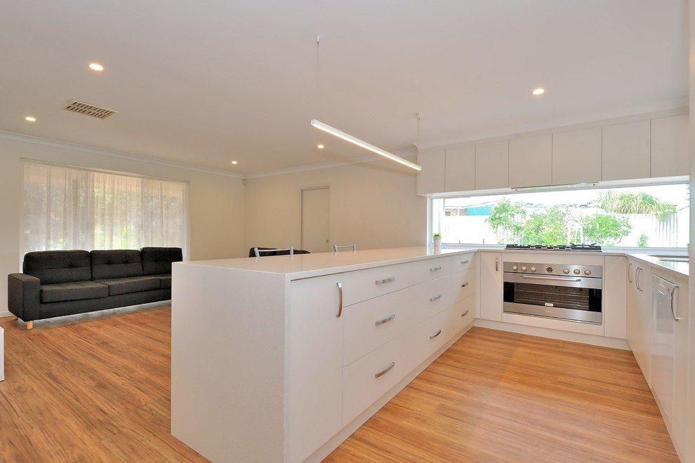 modern wooden kitchen