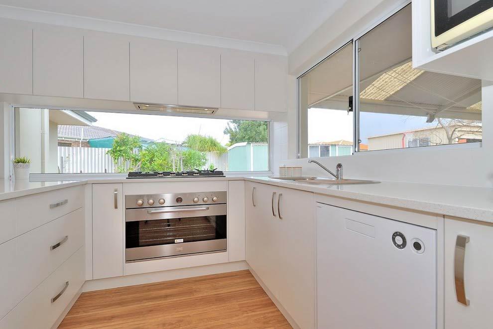modern renovated kitchen