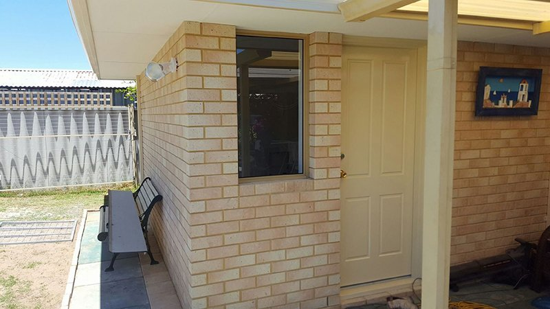 light brick home extension
