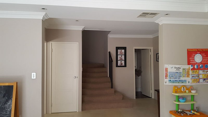 stairway in a home