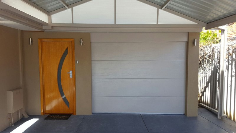 carport attached to the home
