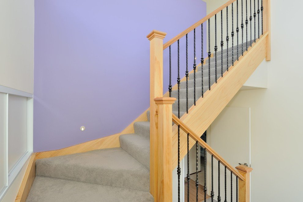 railing of the stairs