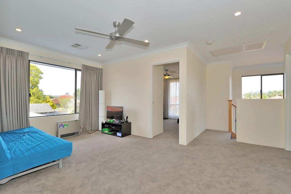 large upstairs room