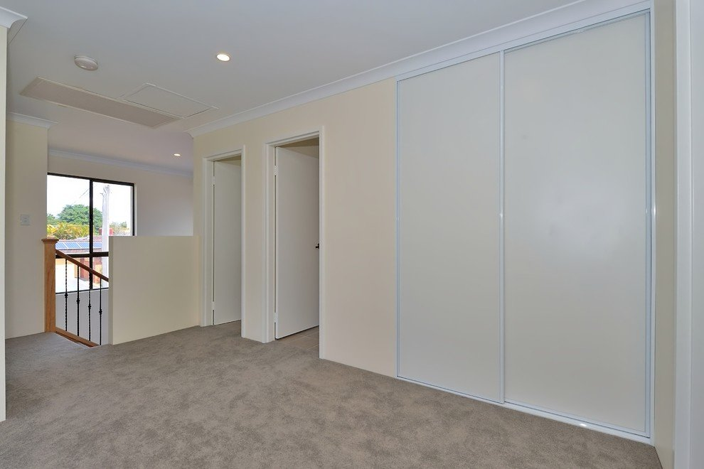 room with a closet