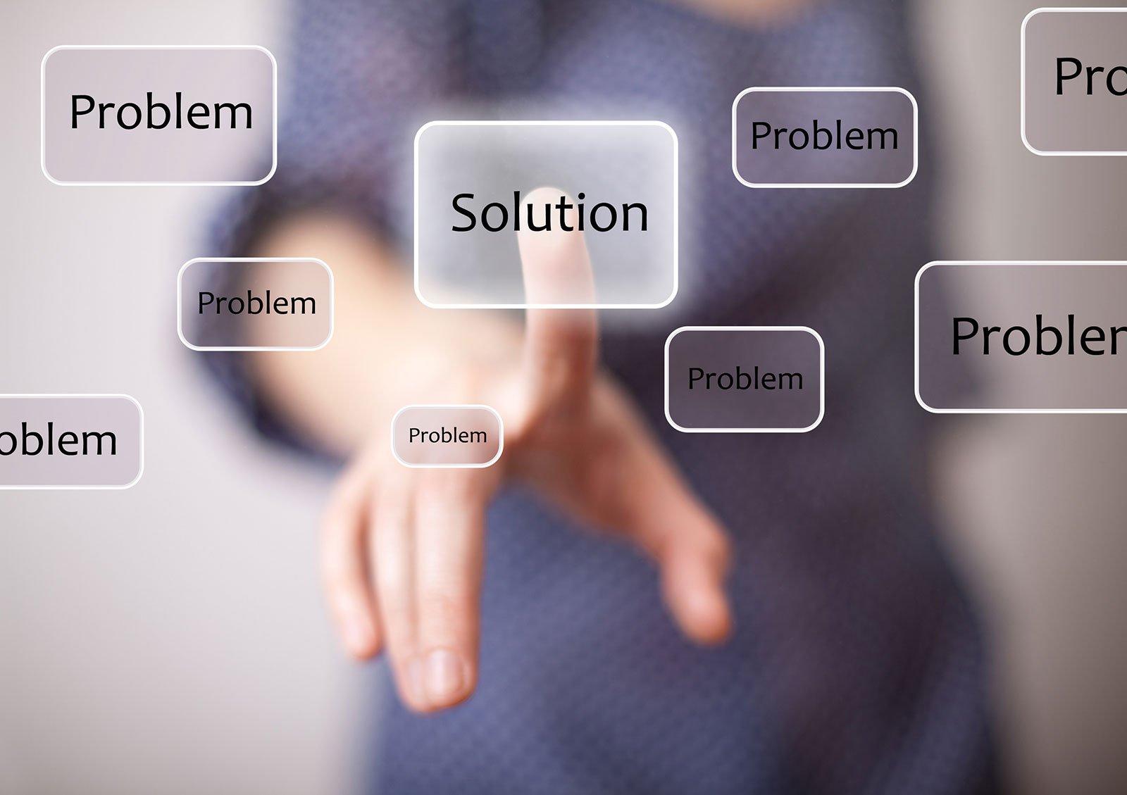 Tra tutti i problemi c'è sempre una soluzione