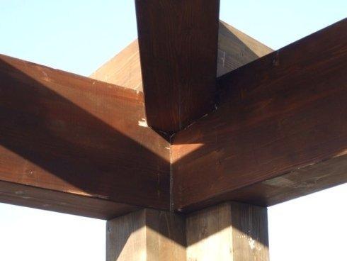 strutture in legno e gazebo