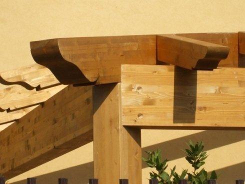 strutture edili in legno lamellare