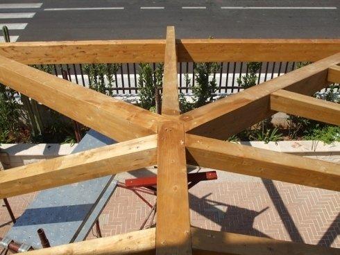 strutture in legno lamellare per uso civile