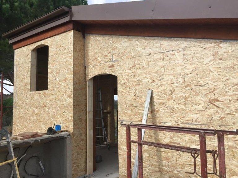 lavori in legno e tetti