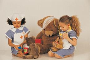 little-girls-playing-nurses