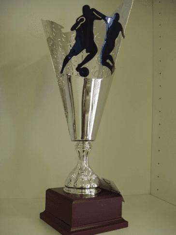 coppa in argento, coppa placata argento, trofeo in argento