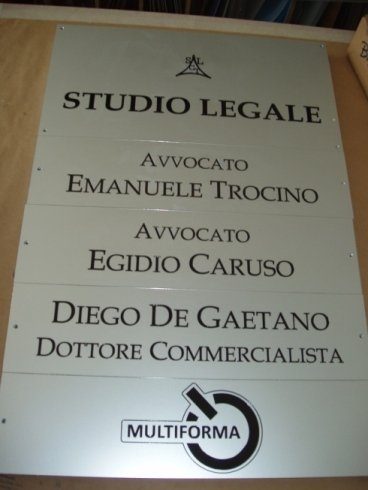 Targa studio