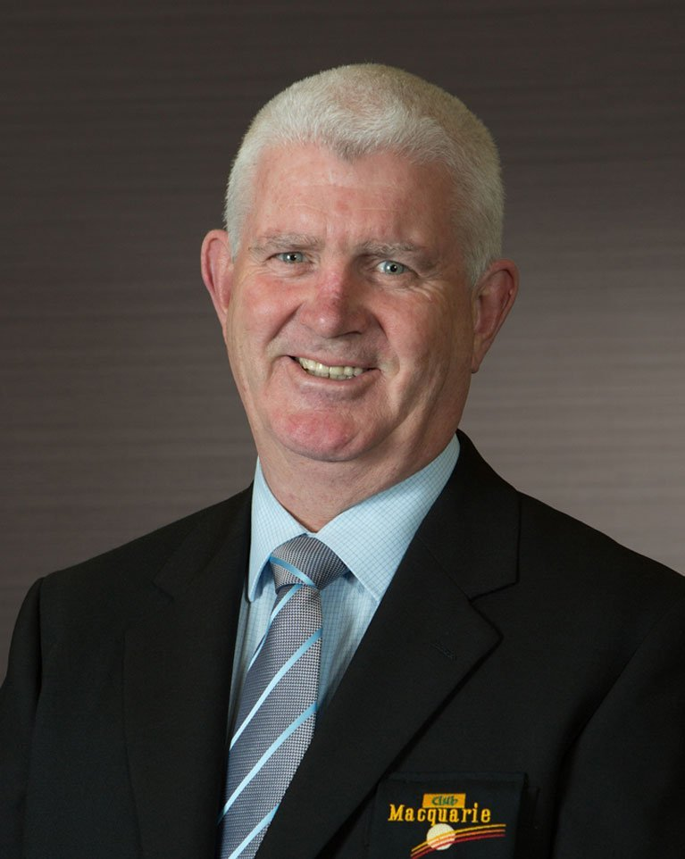 Bernard McCarthy Club Macquarie CEO