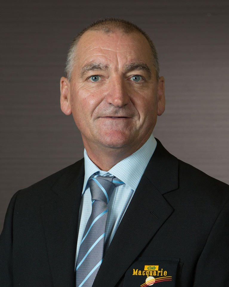 Graham Roskell Club Macquarie Operations Manager