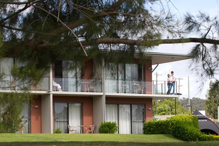 Macquarie Inn Platinum Room Balcony