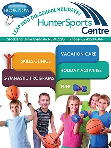 Hunter Sports Centre Holiday Programs