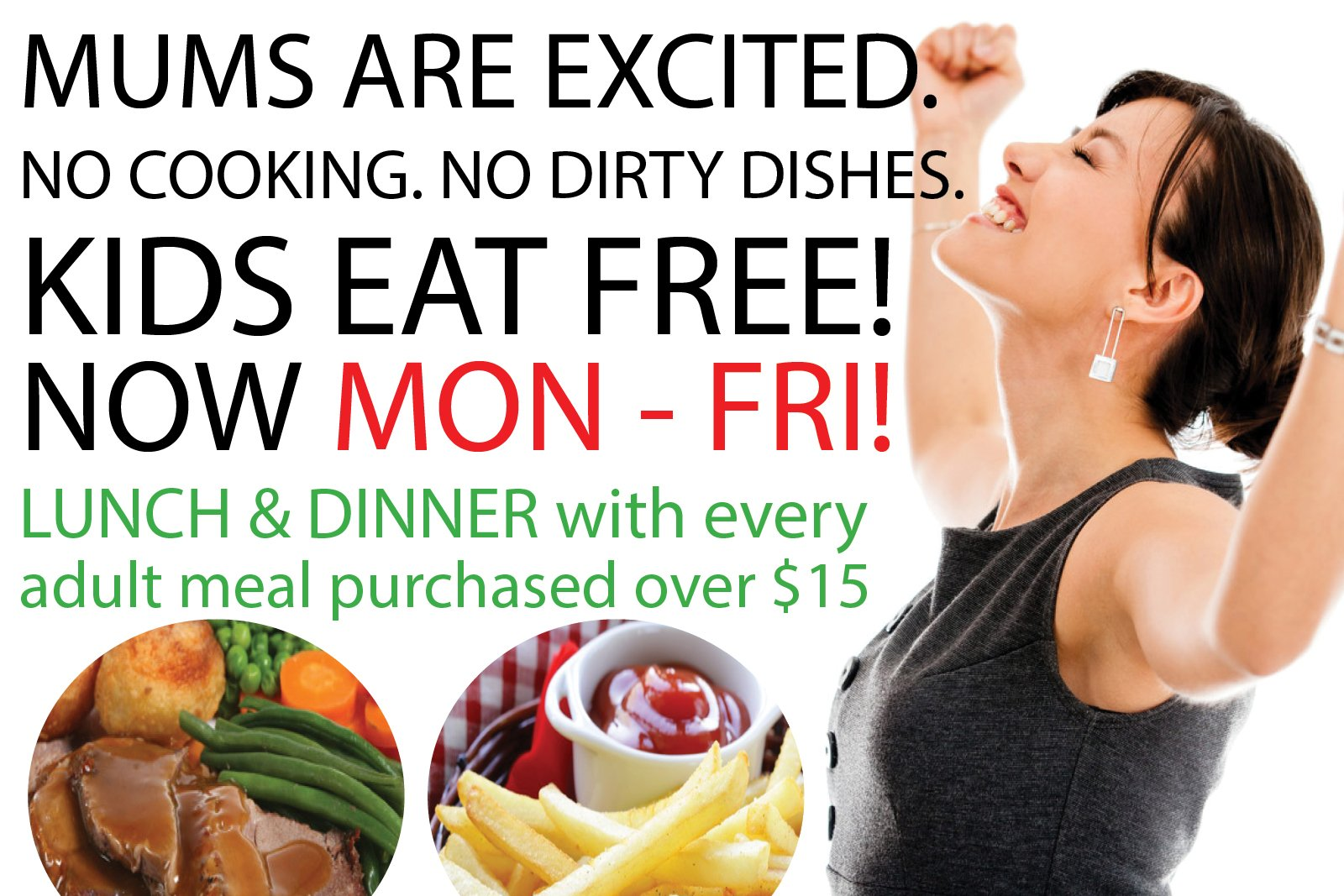 Kids eatFree whats on weekly web mod