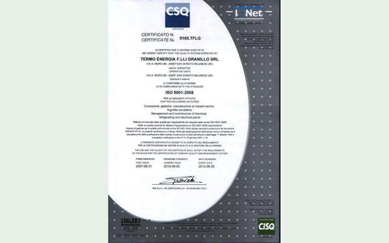 certificazioni cuneo