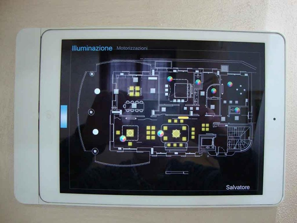 Progetto tablet per casa demotica