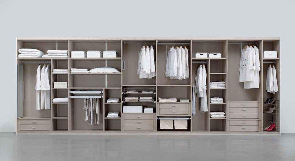 Progetto interno armadio