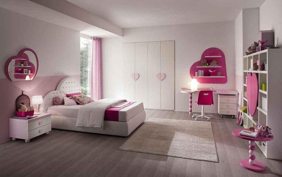 Progetto cameretta rosa fucsia