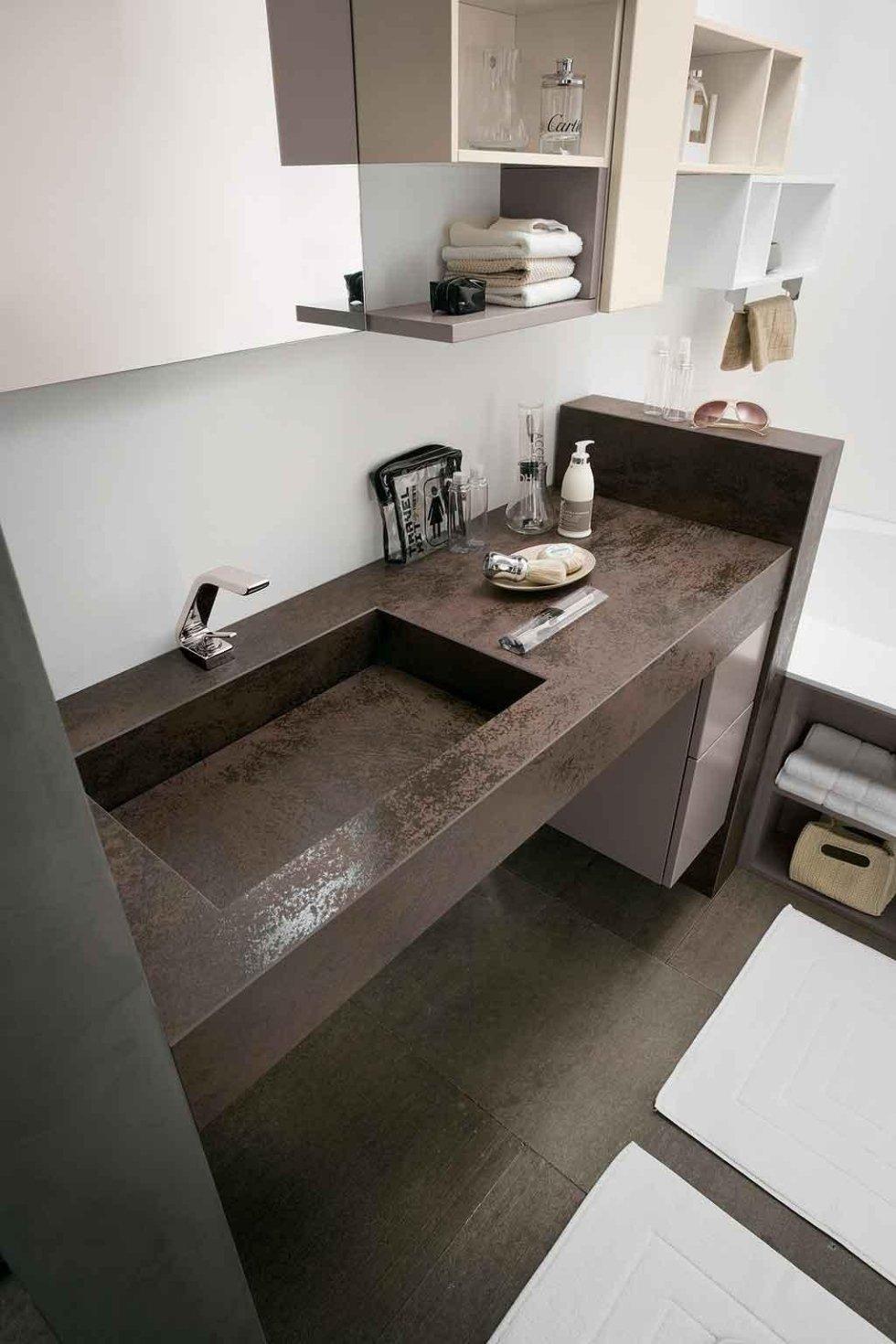 Progetto lavabo integrato