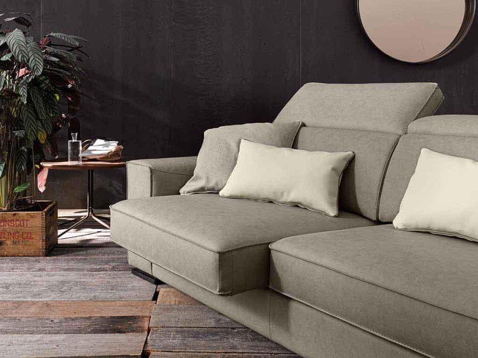 Progetto divano con muovimento relax