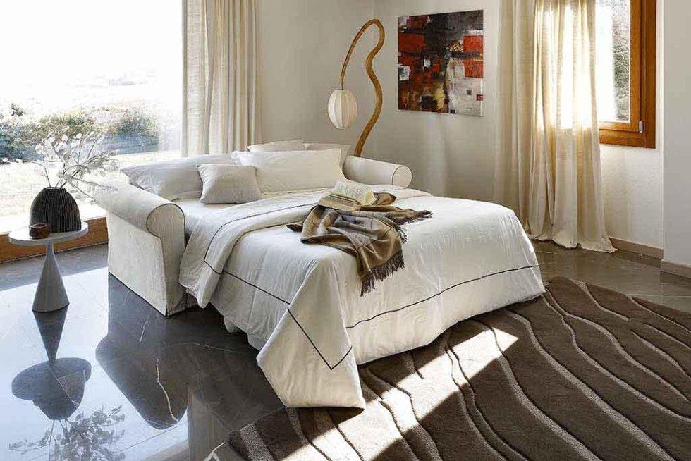 Progetto divano letto classico