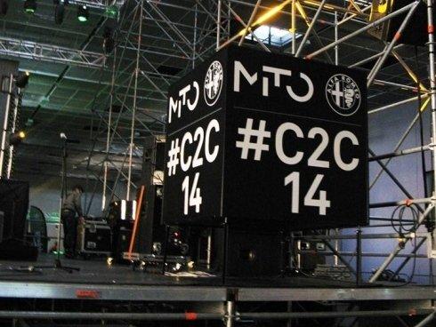 Light Cube evento #C2C14