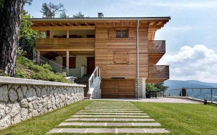 Complesso residenziale in legno