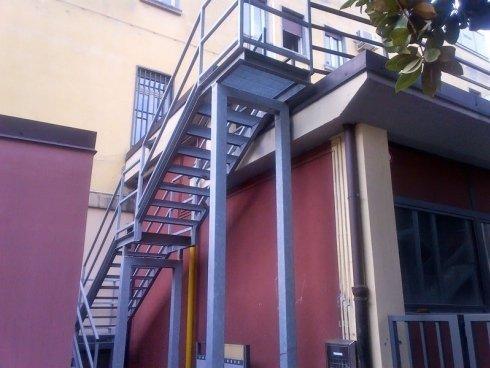 scale di sicurezza esterne