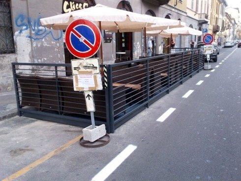 recinzioni per arredi esterni in ferro