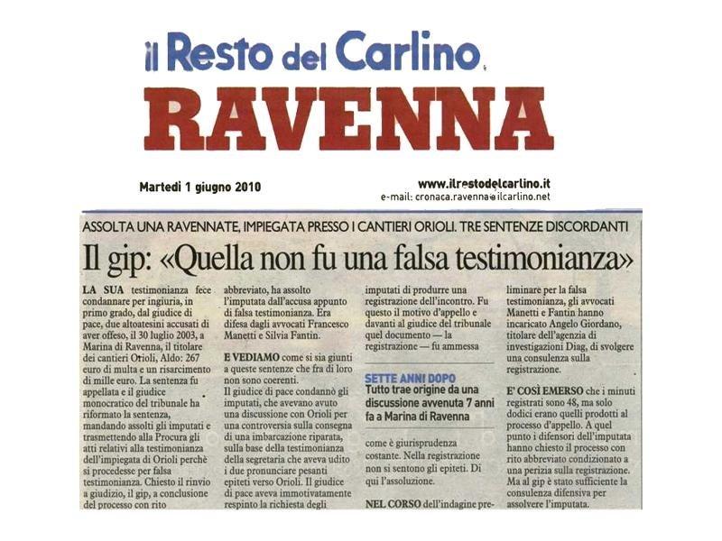 Indagini a pagamento Ravenna