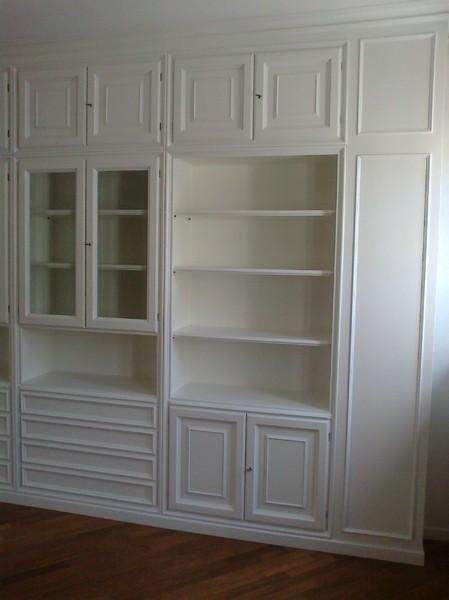 librerie legno pavia