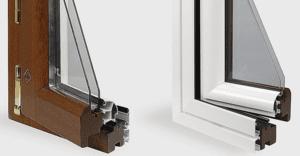 infissi legno alluminio pavia